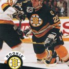 Rookie Bob Beers 1991/92 Pro Set #520 NHL Hockey Card Near Mint Condition