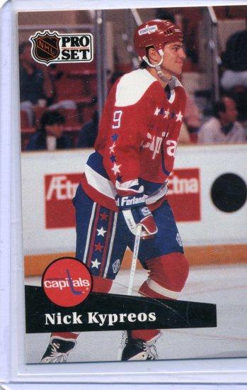 Nick Kypreos 91/92 Pro Set #513 NHL Hockey Card Near Mint Condition