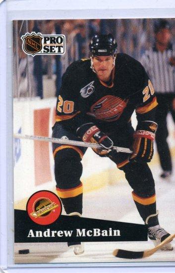 Andrew McBain 91/92 Pro Set #500 NHL Hockey Card.Near Mint Condition