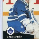 Grant Fuhr 91/92 Pro Set #494 NHL Hockey Card Near Mint Condition