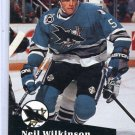 Neil Wilkinson 1991/92 Pro Set #483 Hockey Card Near Mint Condition