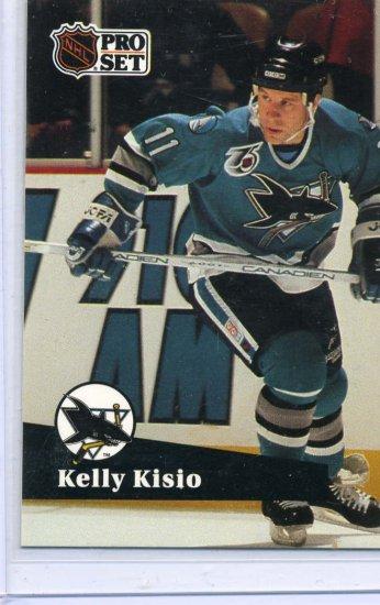 Kelly Kisio 1991/92 Pro Set #479 Hockey Card Near Mint Condition