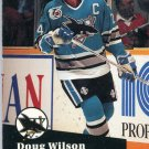 Doug Wilson 91/92 Pro Set #478 NHL Hockey Card Near Mint Condition