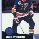 Murray Baron 91/92 Pro Set #472 NHL Hockey Card Near Mint Condition