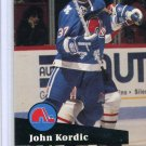 John Kordic 1991/92 Pro Set #468 Hockey Card Near Mint Condition