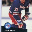 Tim Kerr 91/92 Pro Set #446 NHL Hockey Card Near Mint Condition