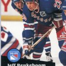 Jeff Beukeboom 91/92 Pro Set #444 NHL Hockey Card Near Mint Condition