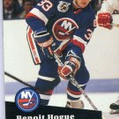 Benoit Hogue 91/92 Pro Set #435 NHL Hockey Card Near Mint Condition