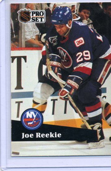 Joe Reekie 1991/92 Pro Set #429 NHL Hockey Card Near Mint Condition