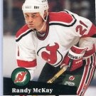 Randy McKay 1991/92 Pro Set #422 NHL Hockey Card Near Mint Condition