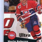 Rookie Mario Roberge 91/92 Pro Set #415 NHL Hockey Card Near Mint Condition