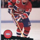 Kirk Muller 91/92 Pro Set #412 NHL Hockey Card Near Mint Condition