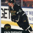 Chris Dahlquist 91/92 Pro Set #408 NHL Hockey Card Near Mint Condition