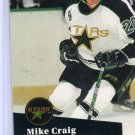 Mike Craig 91/92 Pro Set #405 NHL Hockey Card Near Mint Condition