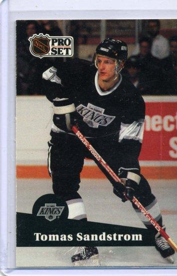 Tomas Sandstrom 91/92 Pro Set #97 NHL Hockey Card Near Mint Condition