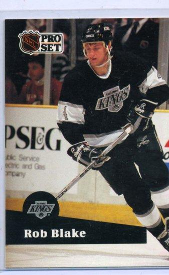 Rob Blake 1991/92 Pro Set #92 NHL Hockey Card Near Mint Condition