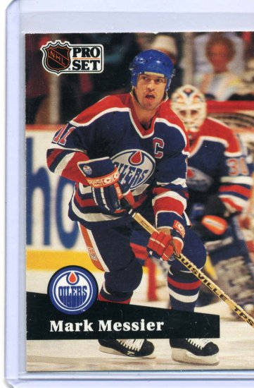 Mark Messier 1991/92 Pro Set #74 NHL Hockey Card Near Mint Condition
