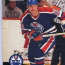 Esa Tikkanen 1991/92 Pro Set #71 NHL Hockey Card Near Mint Condition