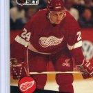 Bob Probert 1991/92 Pro Set #61 NHL Hockey Card Near Mint Condition
