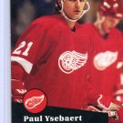 Paul Ysebaert 1991/92 Pro Set #59 NHL Hockey Card Near Mint Condition