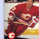 Carey Wilson 1991/92 Pro Set #36 NHL Hockey Card Near Mint Condition