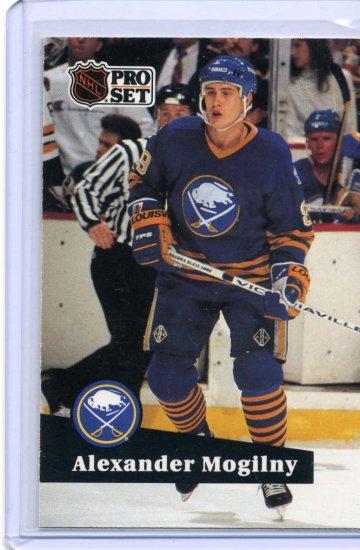 Alexander Mogilny 1991/92 Pro Set #16 NHL Hockey Card Near Mint Condition