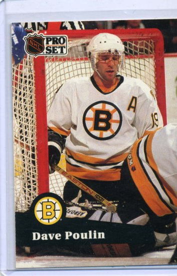 Dave Poulin 1991/92 Pro Set #12 NHL Hockey Card Near Mint Condition