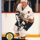 Glen Wesley 1991/92 Pro Set #1 NHL Hockey Card Near Mint Condition