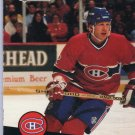 Mike Keane 1991/92 Pro Set #121 NHL Hockey Card Near Mint Condition