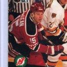 John MacLean 1991/92 Pro Set #136 NHL Hockey Card Near Mint Condition