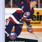 Jeff Norton 1991/92 Pro Set #148 NHL Hockey Card Near Mint Condition