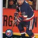 Randy Wood 1991/92 Pro Set #151 NHL Hockey Card Near Mint Condition