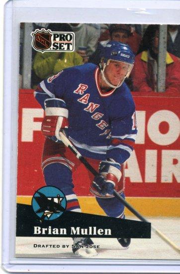 Brian Mullen 1991/92 Pro Set #165 NHL Hockey Card Near Mint Condition