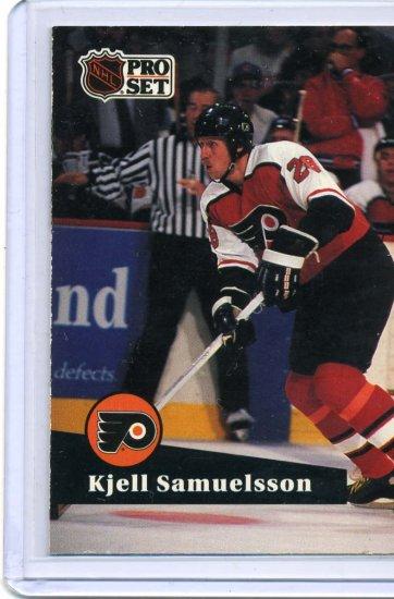 Kjell Samuelsson 1991/92 Pro Set #181 NHL Hockey Card Near Mint Condition