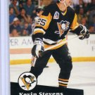 Kevin Stevens 1991/92 Pro Set #185 NHL Hockey Card Near Mint Condition