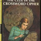 Nancy Drew #44 The Clue In The Crossword Cipher by Carolyn Keene Hard Cover