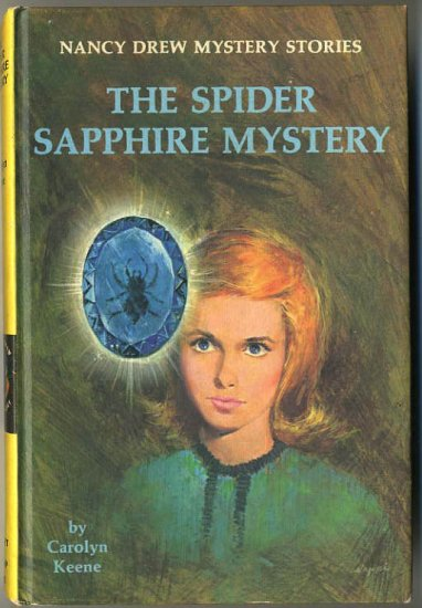 Nancy Drew #45 The Spider Sapphire Mystery by Carolyn Keene Hard Cover