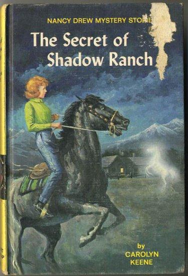 Nancy Drew #5 The Secret Of Shadow Ranch by Carolyn Keene Hard Cover
