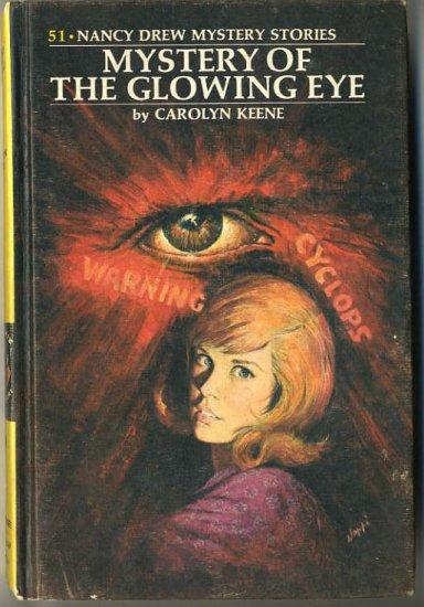 Nancy Drew #51 The Mystery Of The Glowing Eye by Carolyn Keene Hard Cover