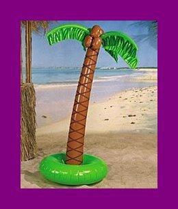 6 FT INFLATABLE PALM TREE LUAU TIKI HAWAIIAN PARTY