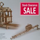 TRAM - UGEARS 3D Mechanical Wooden model & puzzle