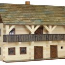 WOODEN HOBBY KIT for KIDS - Walachia Magistrate's House Model Kit