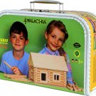 VARIO 72 PC Suitcase (WALACHIA) WOODEN BUILDING SET for kids