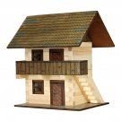 The GRANARY (WALACHIA) 3D Wooden Model Kit for kids