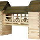 HOBBY KIT FOR KIDS - The BRIDGE (WALACHIA) 3D Wooden Construction Kit