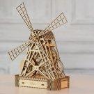 BRAND NEW WINDMILL - WOODEN CITY 3D Mechanical Wooden model