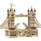 TOWER BRIDGE - MrPLAYWOOD - 3D Mechanical Wooden Model & Puzzle