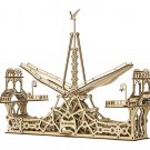 PEDESTRIAN BRIDGE - MrPLAYWOOD - 3D Mechanical Wooden Model & Puzzle