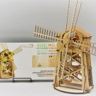 VINTAGE WINDMILL WOODTRICK 3D Mechanical Wooden Model