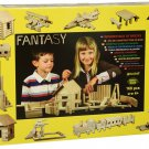 Fantasy WOODEN Box of Bricks - Walachia - construction models and puzzles